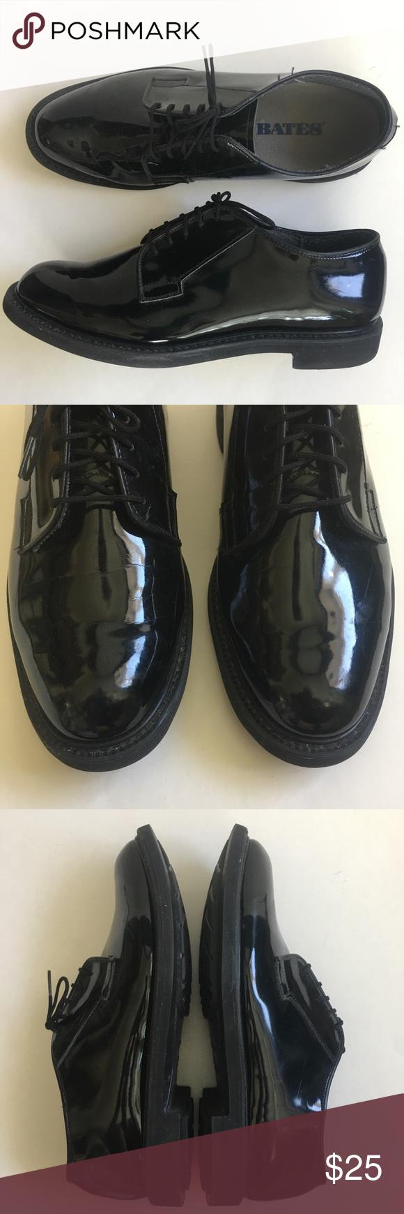 Bates Black Patent Leather Dress Shoes Bates Mens Size 9 D Black Patent Leather Dress Shoes Unif Patent Leather Dress Shoes Black Patent Leather Patent Leather [ 1740 x 580 Pixel ]