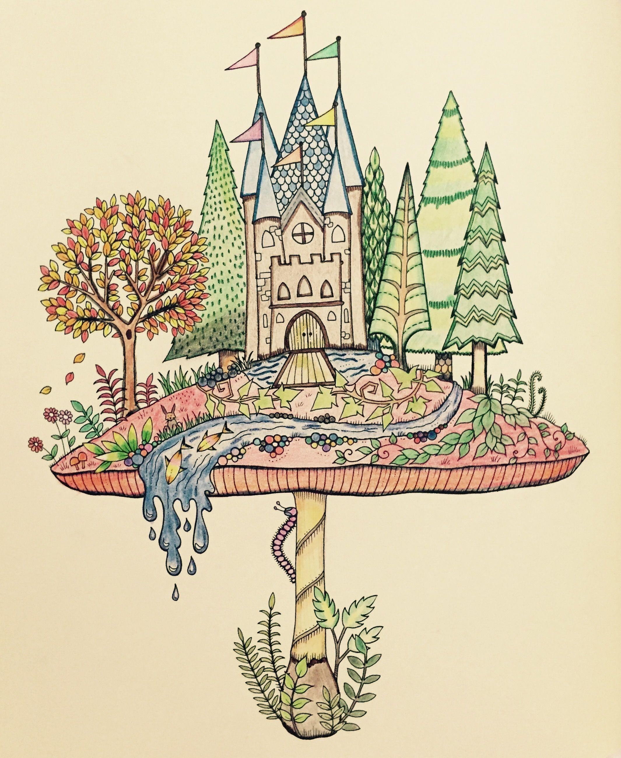 johanna basford enchanted forest enchanted forest by johanna