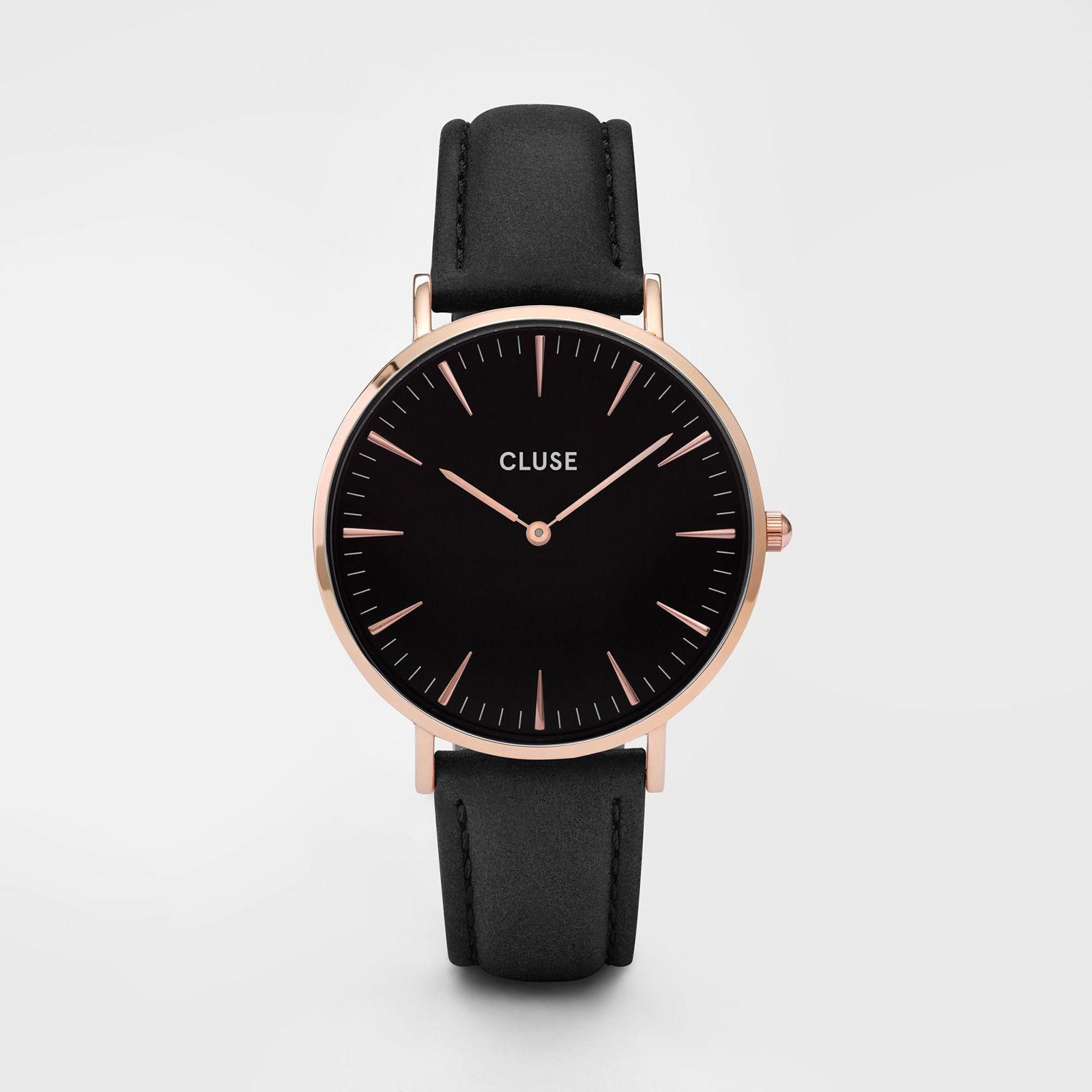 La Bohème Rose Gold Black/Black - Cluse Watches