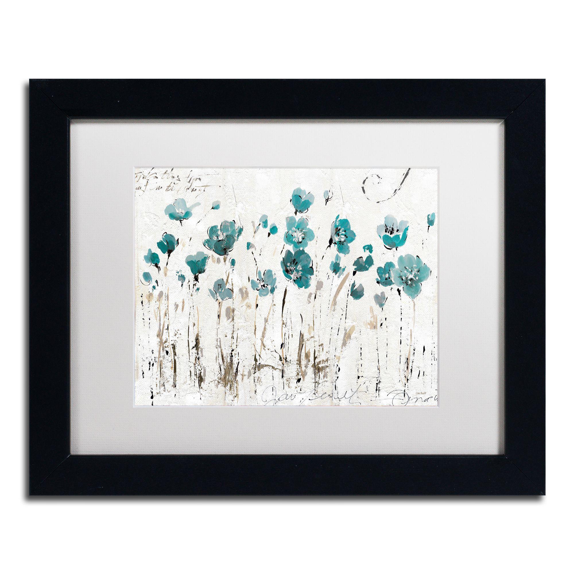 Lisa audit uabstract balance vi blueu matted framed art products