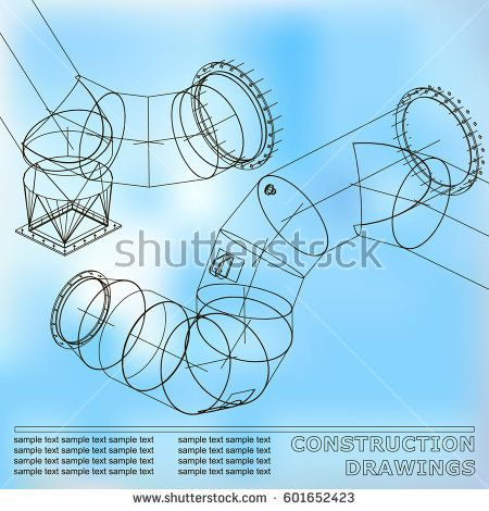 Drawings of steel structures pipes and pipe 3d blueprint of steel drawings of steel structures pipes and pipe 3d blueprint of steel structures background malvernweather Choice Image