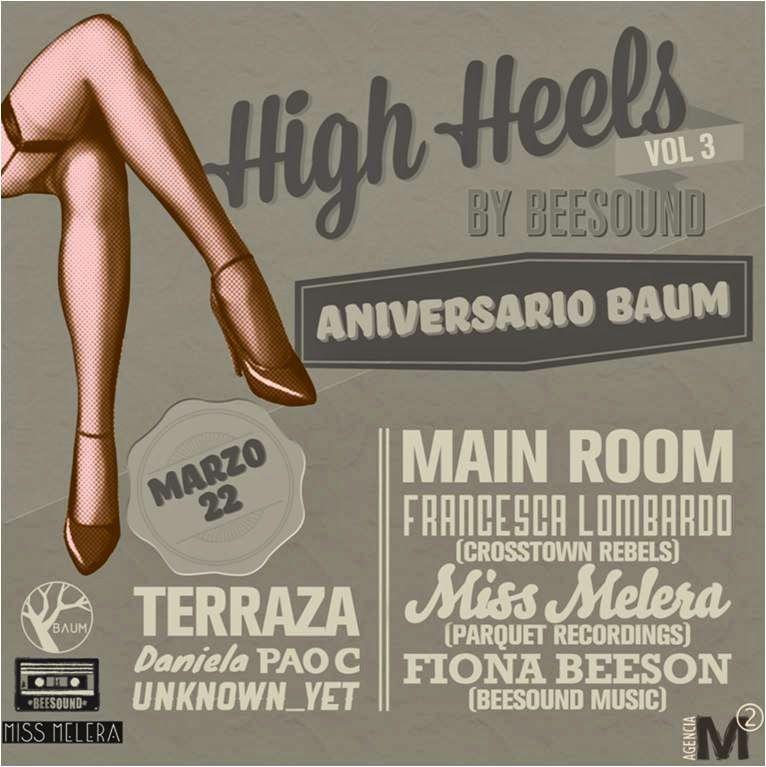 NOTICIAS Y EFEMERIDES MUSICALES Y DEL CINE: HIGH HEELS VOL. 3 EN EL ANIVERSARIO DE BAUM