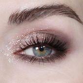 20 Ideen, die mit einem glitzernden Make-up glänzen – Christmas Deesserts