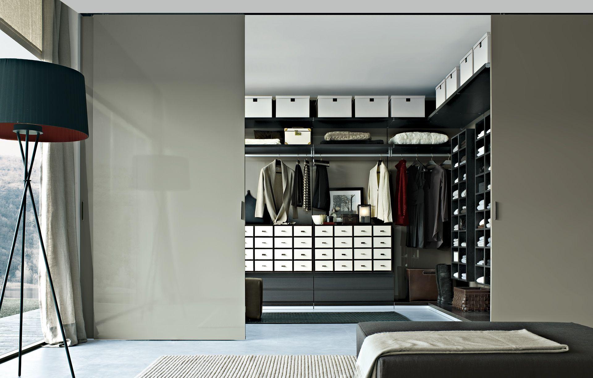 Poliform Ubik and Senzafine | Walk in closet | Pinterest