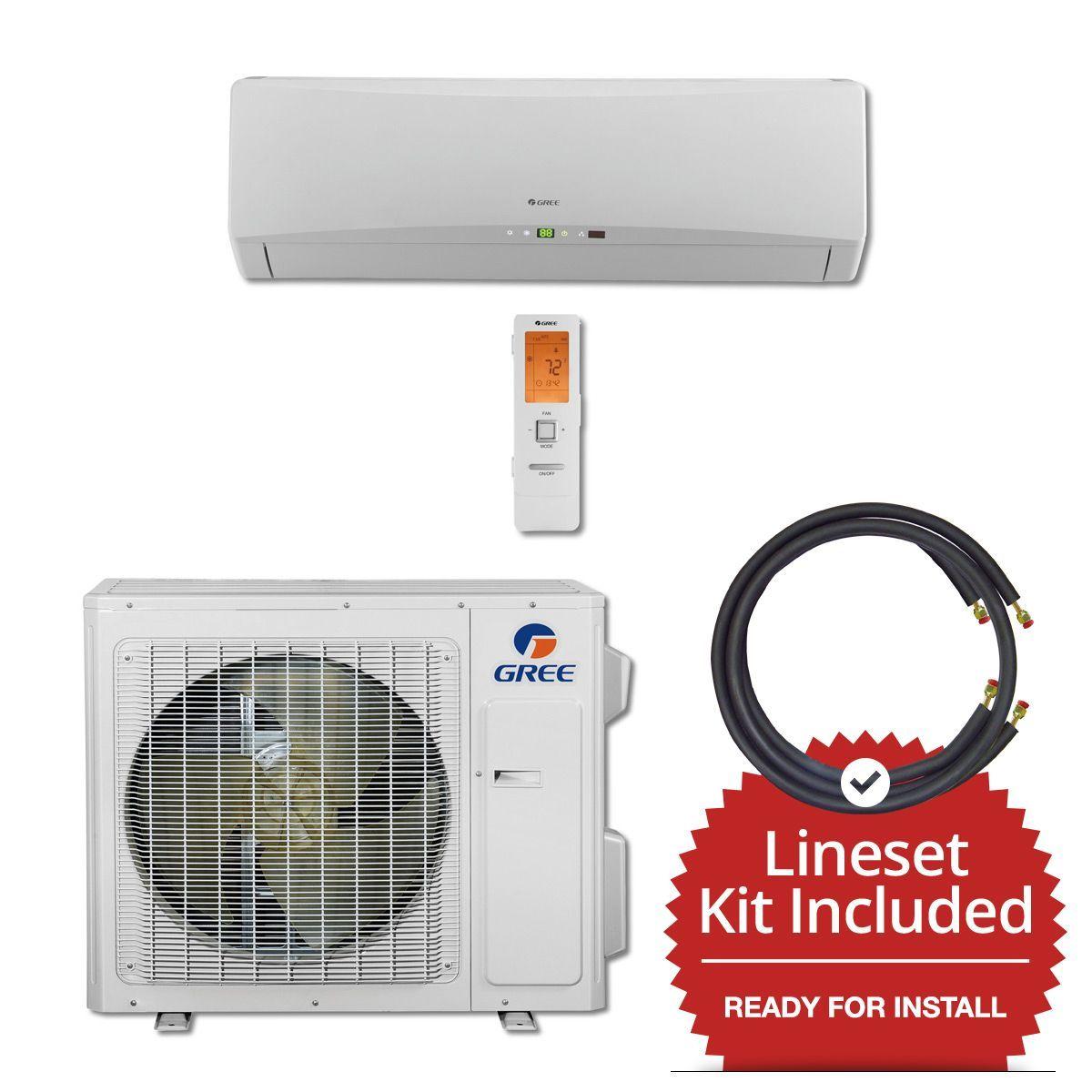 24,000 BTU 21 SEER Wall Mount Mini Split Air Conditioner