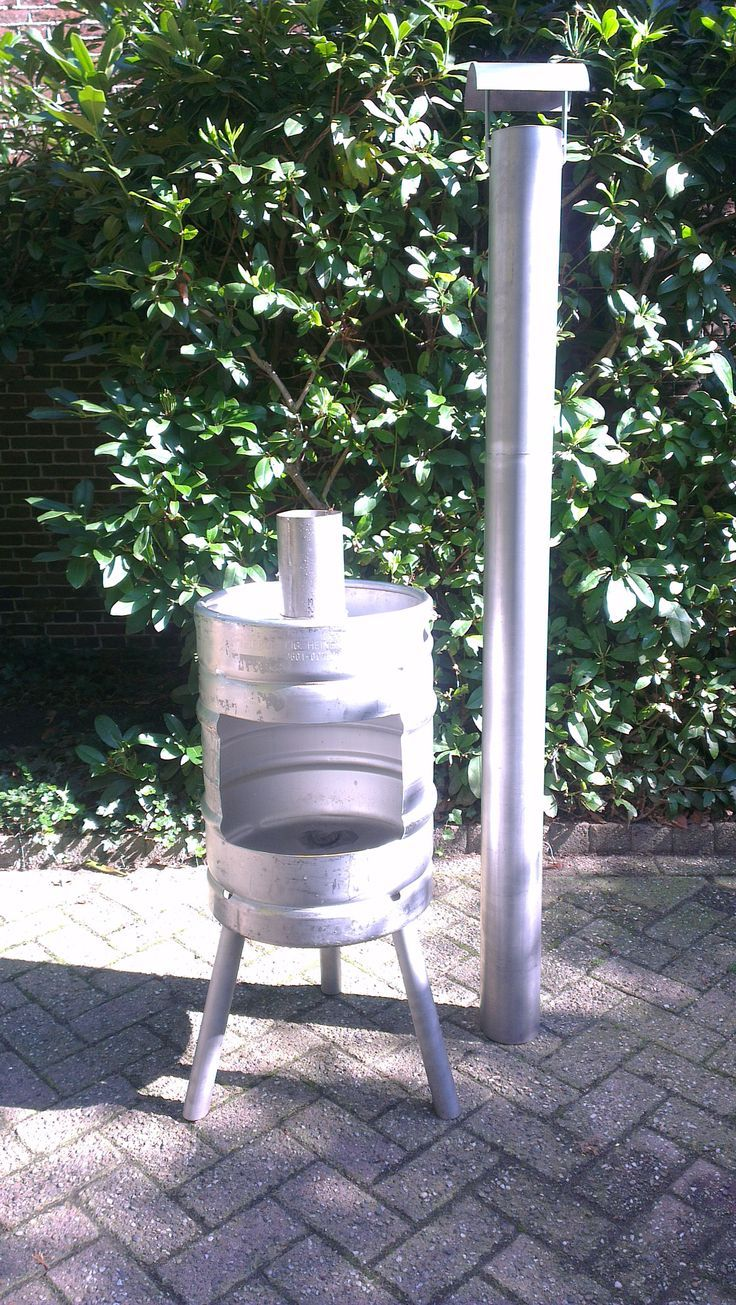 how to make a burn barrel for bbq
