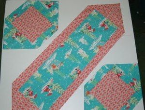 10 Minute Placemat Table Runner And Placemats Table Runners 10 Minute Table Runner Table Runner And Placemats