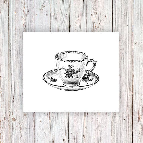 Small teacup temporary tattoo | Teacup, Tattoo and Tatting