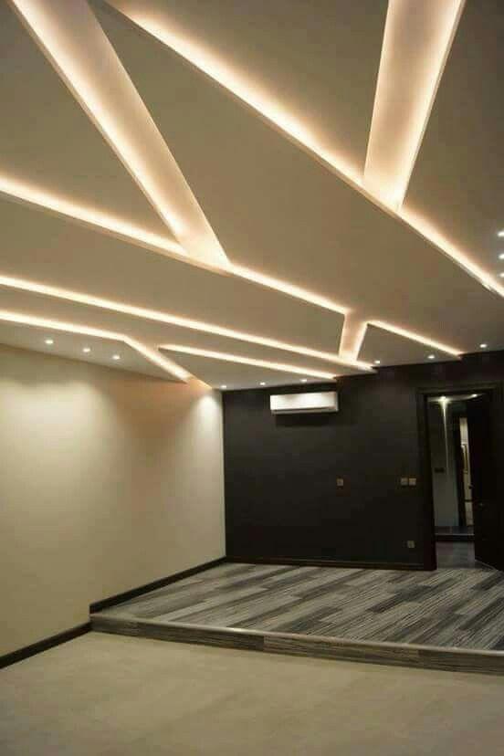 Gypsum flooring materials pinterest ceilings for Bedroom gypsum design