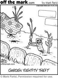 Identity Theft With Images Plant Jokes Gardening Humor