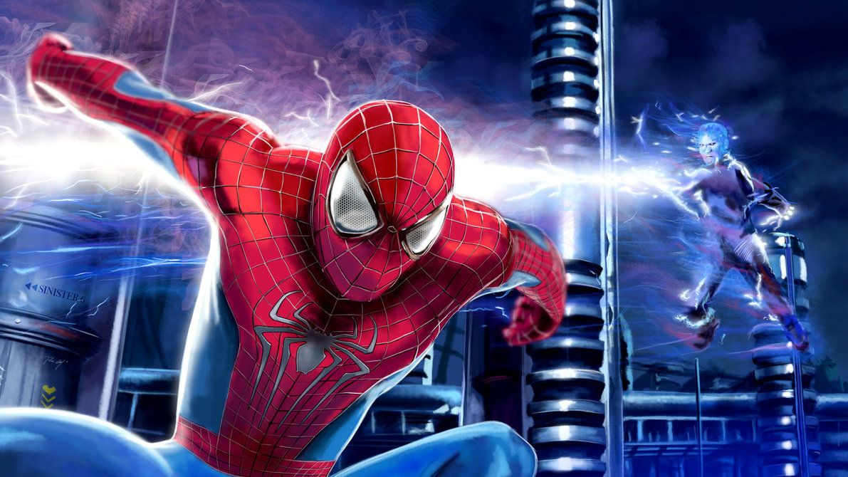 Speed Painting 23 The Amazing Spiderman 2 Spiderman The Amazing Spiderman 2 Amazing Spiderman