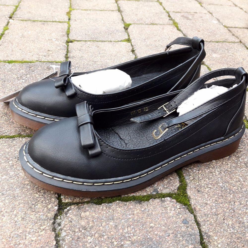Schuhe Flats Ballerinas Dr Martens Stil Leder Gr.42 (eher Gr