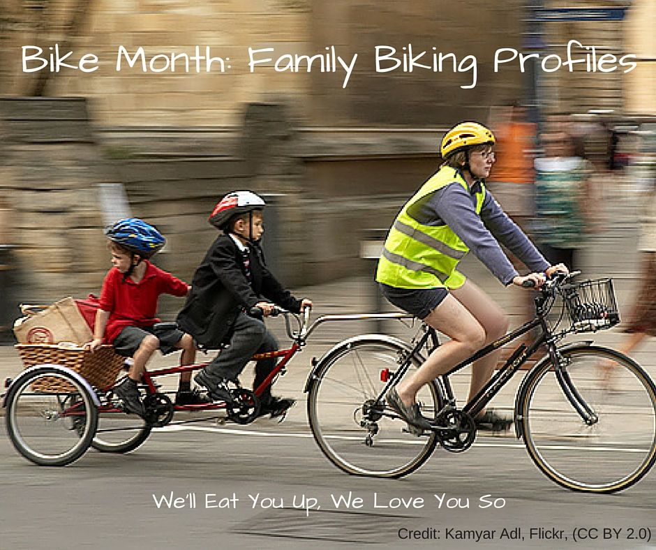 Bike Month Family Biking Profiles Bike Trailer Best Electric