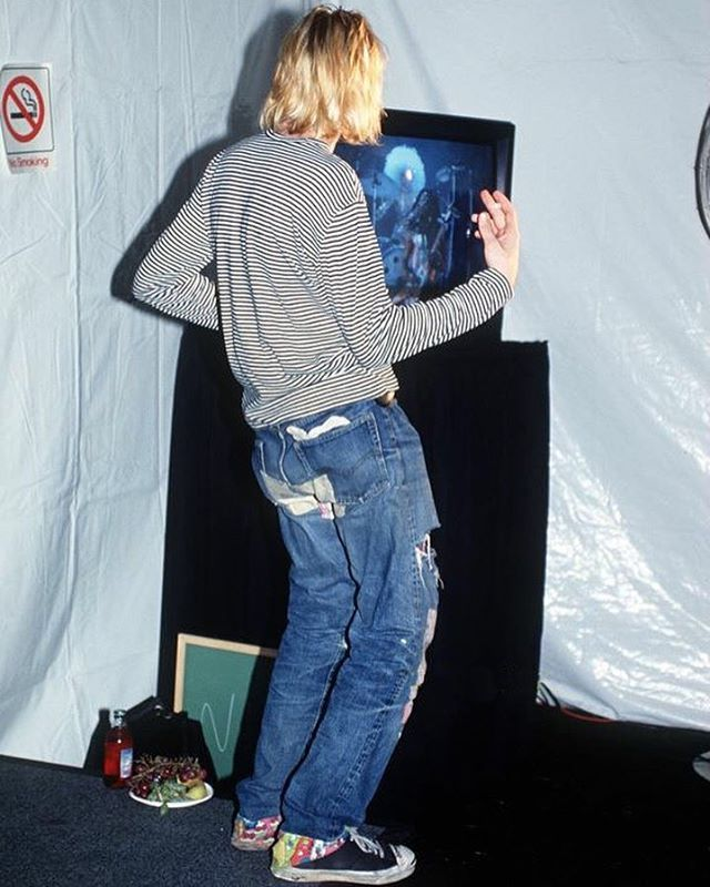 Tbt 9 2 1993 Kurtcobain Rocking Out With Us Backstage At The