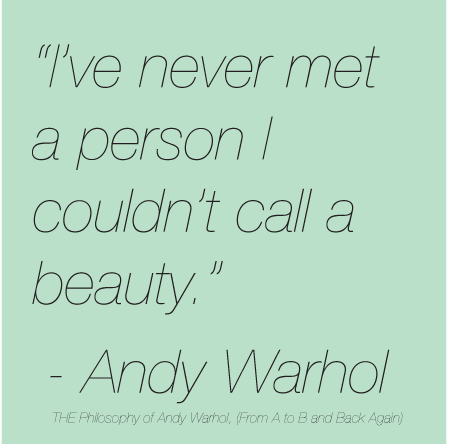 Quote of the Week Andy Warhol Andy warhol quotes