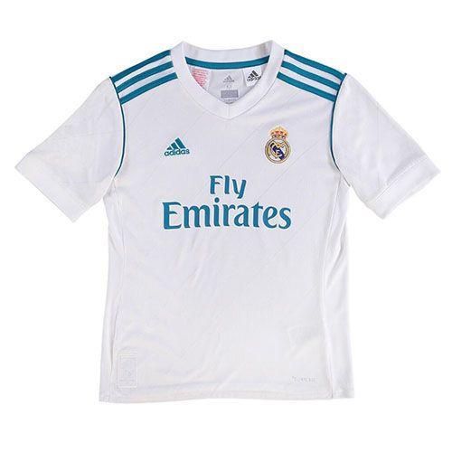 Camiseta Real Madrid Ninos Casa 2017 2018  0278b7407c45f