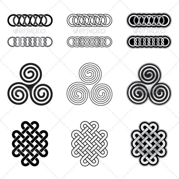 Celtic Tatting Patterns