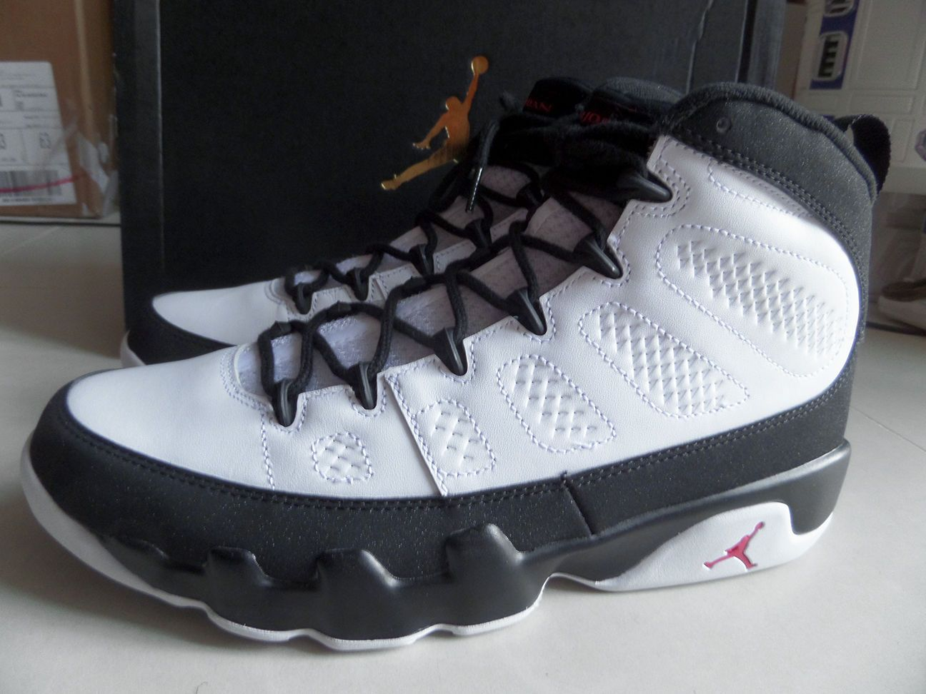 100% Auth Nike Air Jordan 9 IX Retro OG Playoff Space Jam sz 10.5 [