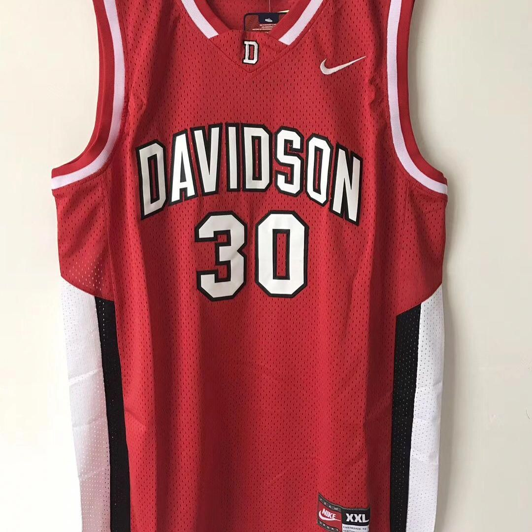 size 40 132be b4cc4 Davidson 30 Stephen curry basketball jersey Size:S-3XL Link ...