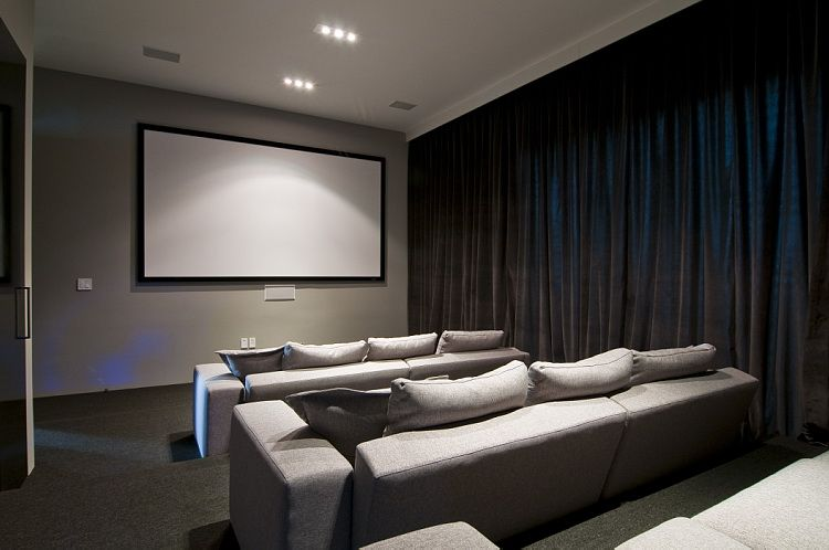 Pin by May Leng on Home Ideas | Home theater design, House ...