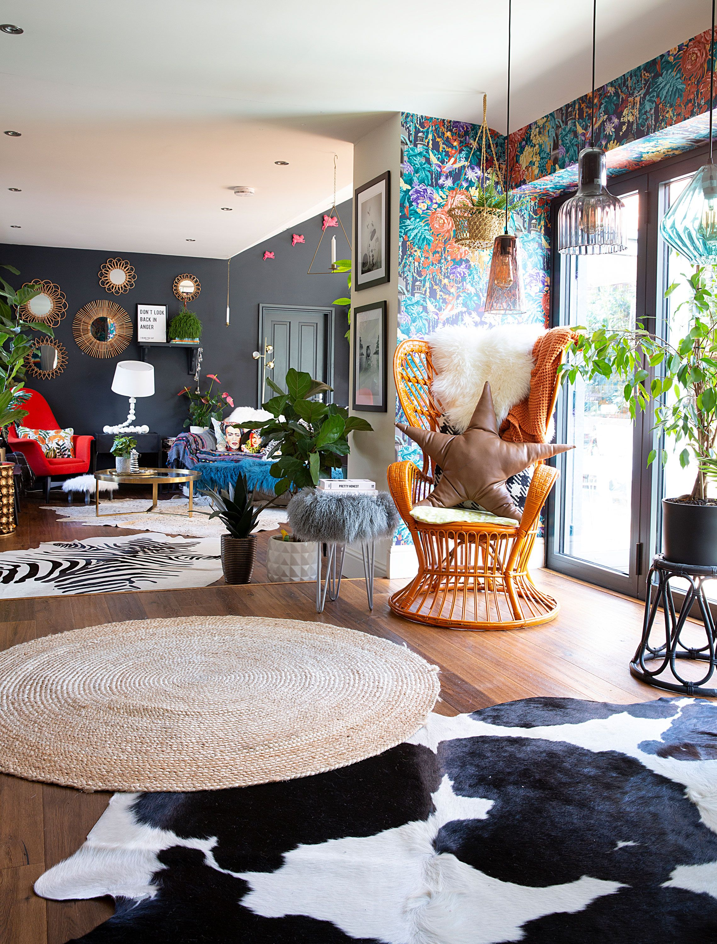 Extraordinaire  Mot-Clé This extended home is a maximalist dream