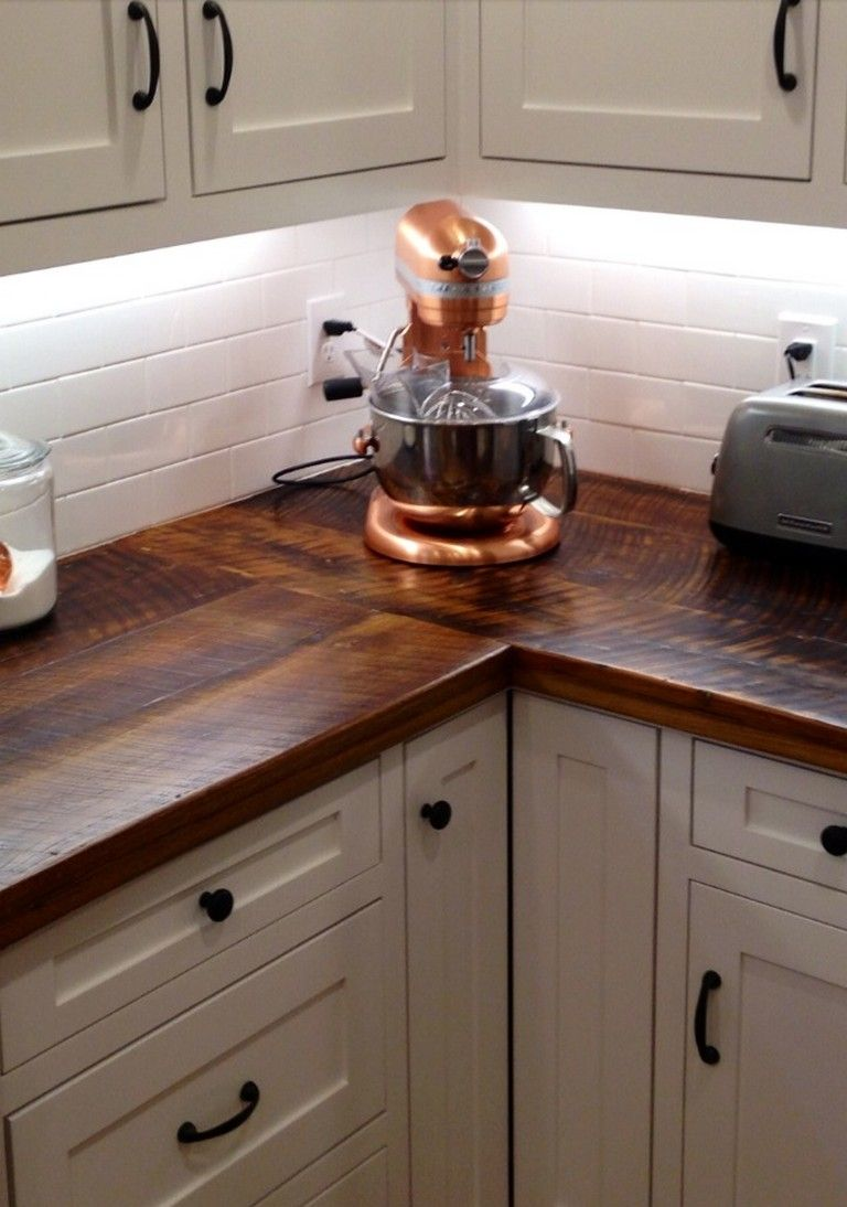 Awesome DIY Wood Countertops Style Decorating Ideas ...