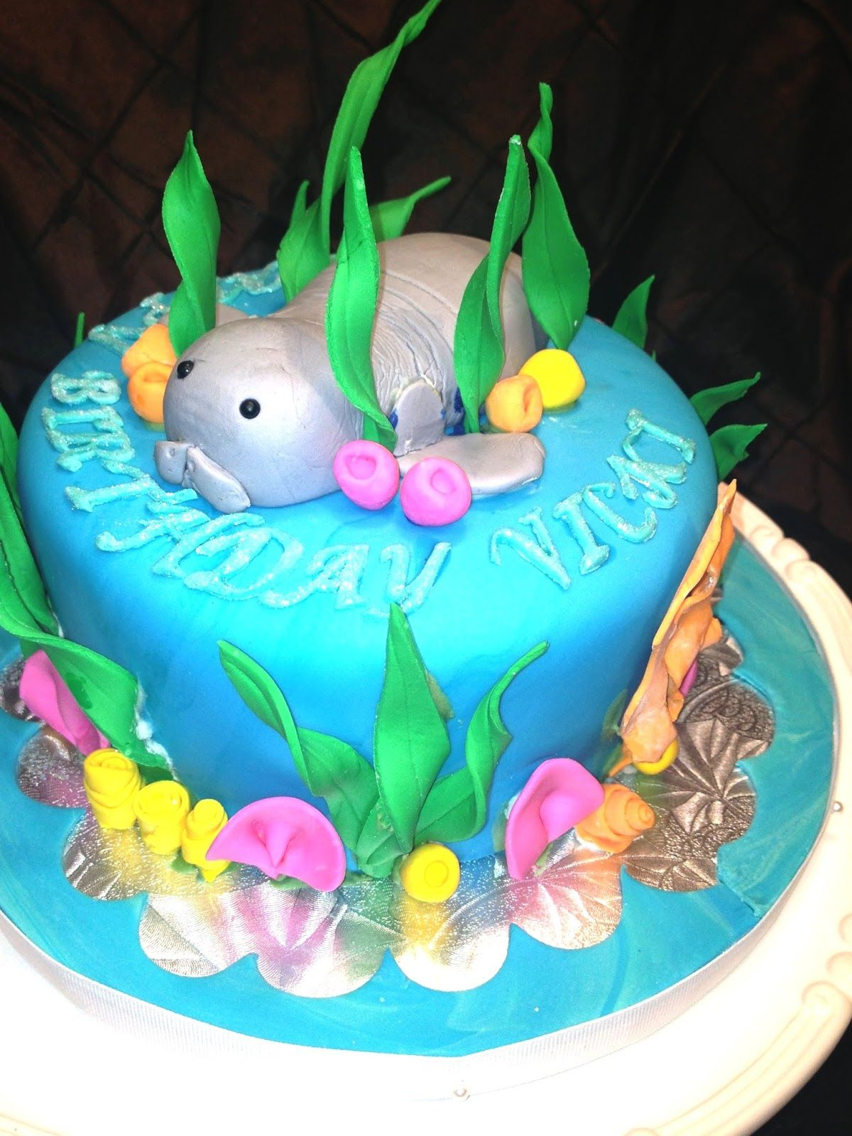 manatee cake cakes in 2018 pinterest manatee and cake