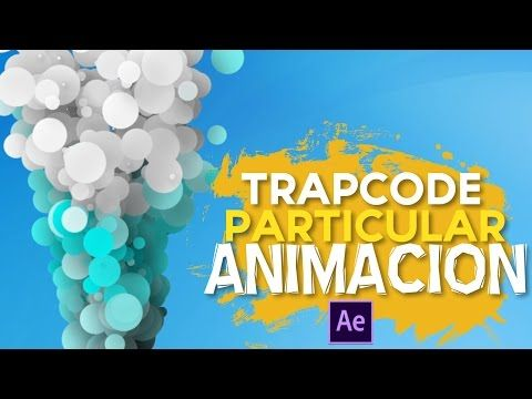 Como Animar Particulas con Trapcode After Effects Tutorial - YouTube #motiongraphic