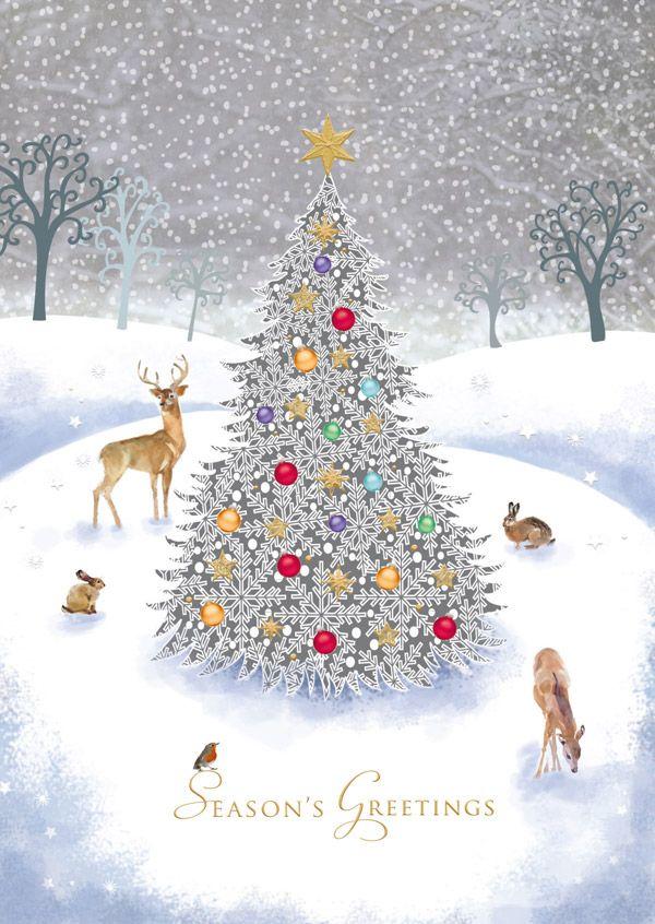 Woodland Wildlife | Christmas cards | Pinterest | Christmas ...