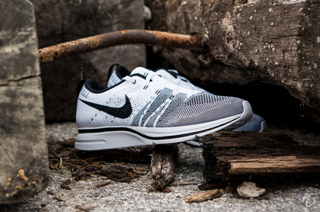 white black flyknit trainer - Google Search