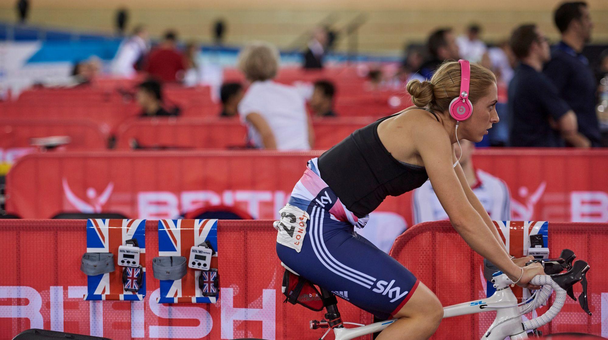 3f5e48dd0 Laura Trott Track World Cup Luke Webber British Cycling
