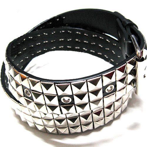 Zipper Black Gothic Punk Deathrock Thrash Metal Wrist Bracelet
