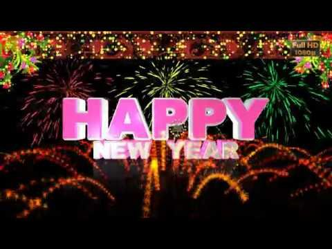 happy new year 2017 wisheswhatsapp videonew year greetingsanimationmessageecardfireworks youtube