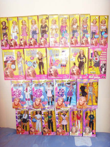 I Had About 5 Different Ones Of These Britney Spears Dolls Hahaha I