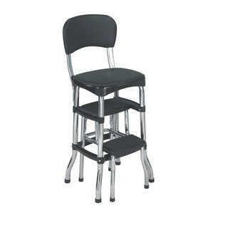 Cosco Retro Counter Chair Step Stool (Green) | Retro