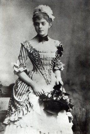 Mary Vetsera, mistress of Prince Rudolf, heir to the throne of Austro Hungaian empire, son of Franz Josef and Elizabeth , emperor and empress of Austria .