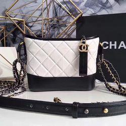 01effeb7321f Chanel Gabrielle Small Hobo Bag White A91810 | Chanel in 2019 ...