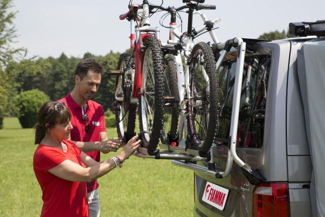 Fiamma Carry Bike Vw T6 Pro Fiamma Products For Van Conversions