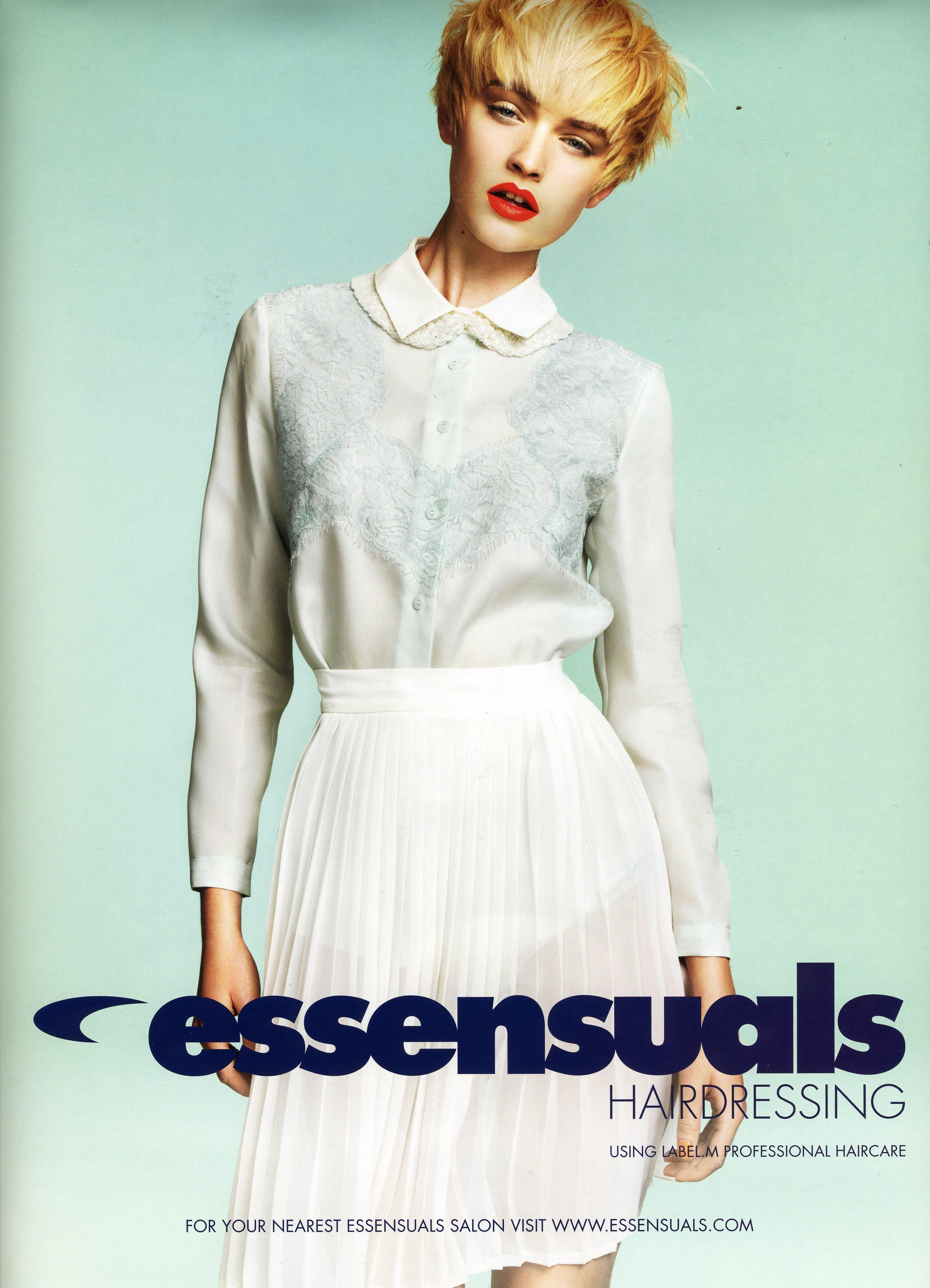 Abby Clee For Toni Guy Essensuals Hairdressing Lfw