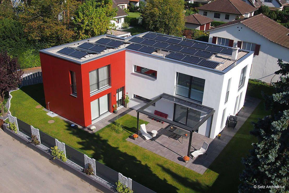 Einfamilienhaus In Muttenz : Moderne Häuser Von Setz Architektur