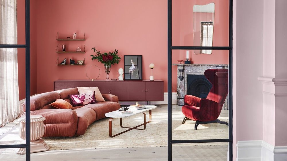 Unveiling Dulux's 2019 Colour Forecast is part of Neutral Living Room Dulux - The new hues to know, from the utmost authority on colour! Inspired by trends in wellness, technology, individuality, and nature