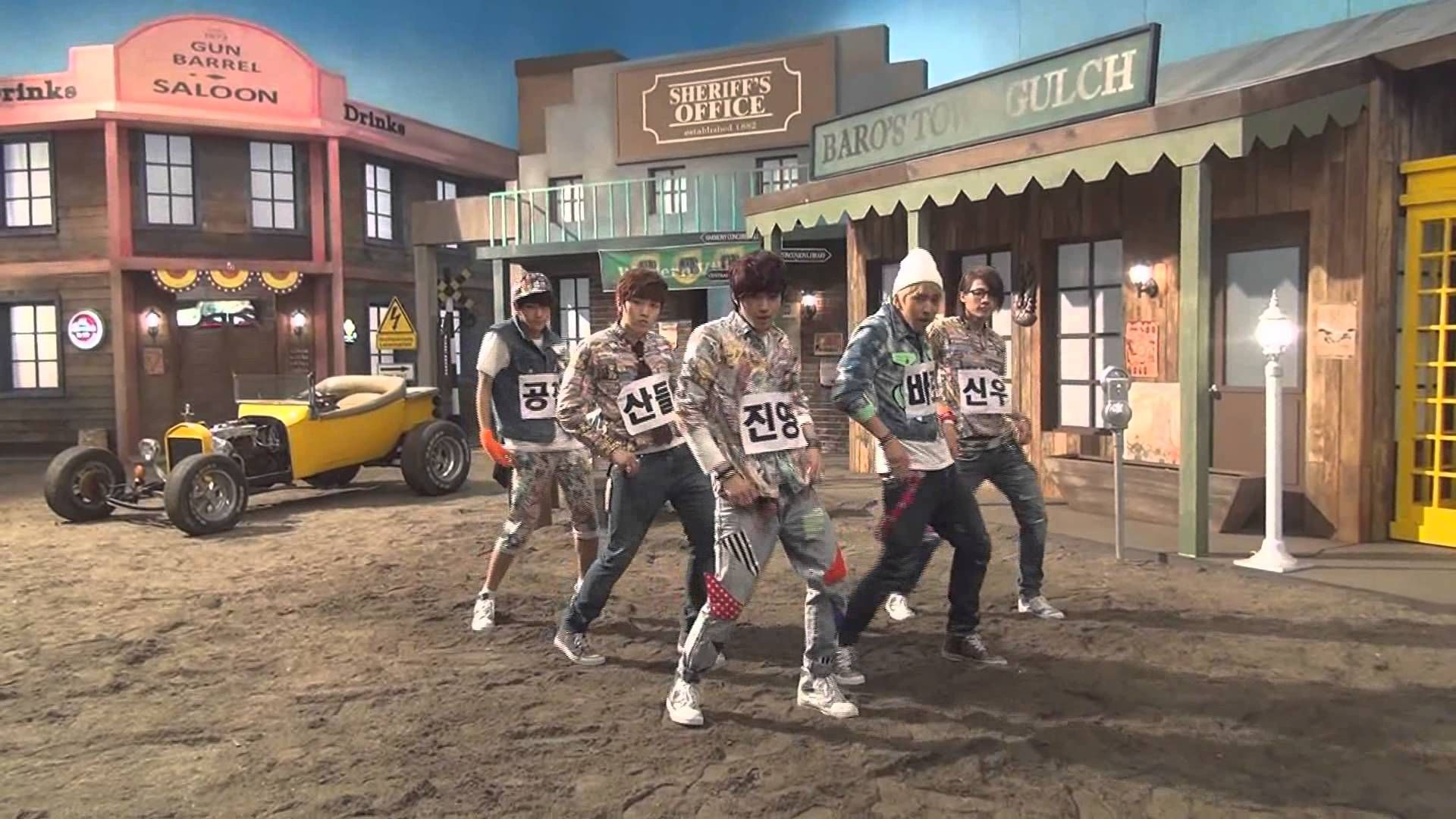 >< OMG CNU nggak kuat sama caraya ngibasin rambut B1A4 - 잘자요 굿나잇 안무 영상 (Baby Good Night Dance Practice Video)  .