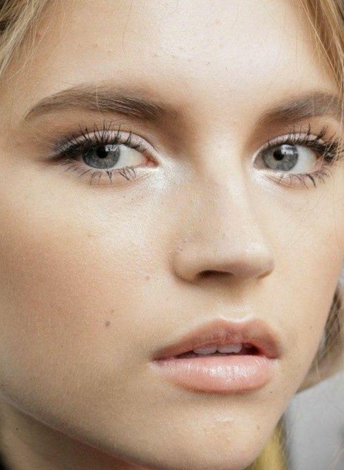 No make-up look avec un maquillage discret! | Maquillage