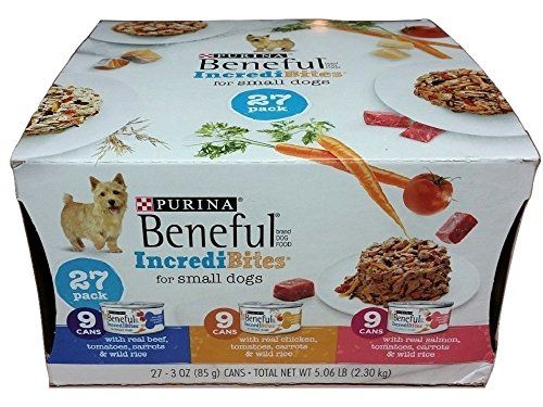 Purina Beneful Incredibites Variety Pack Dog Food 27 3 Oz Cans 2