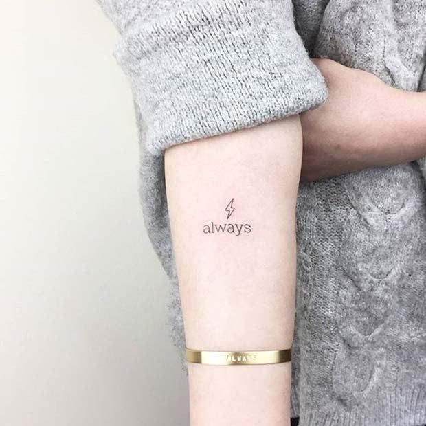 11 More Awesome Small Tattoo Ideas For Women 7 Movie Quote Tattoos For Women Small Tattoos Small Tattoos