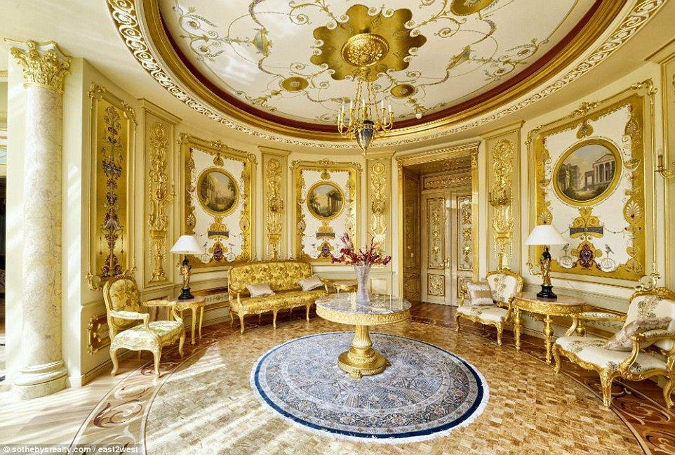 sumptuous moscow palaces appear on market for 70million mansions of corruption mansions. Black Bedroom Furniture Sets. Home Design Ideas