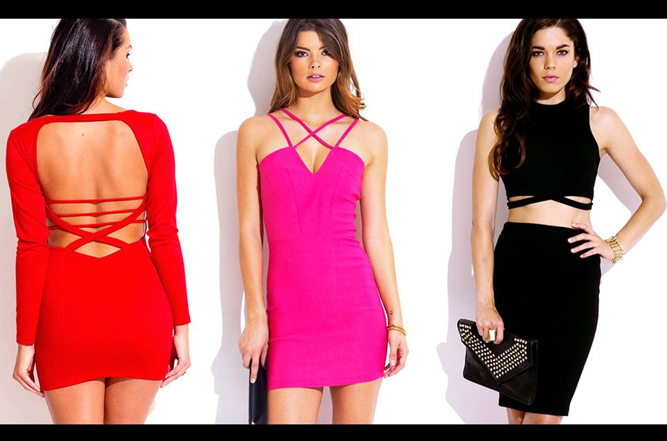Shop caged dresses and two piece sets at http://1015store.com/caged