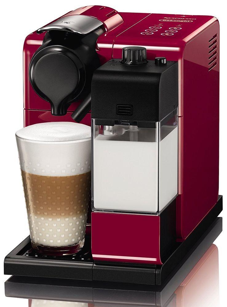 Coffee Machine Nespresso Cappuccino Espresso Latte Touch