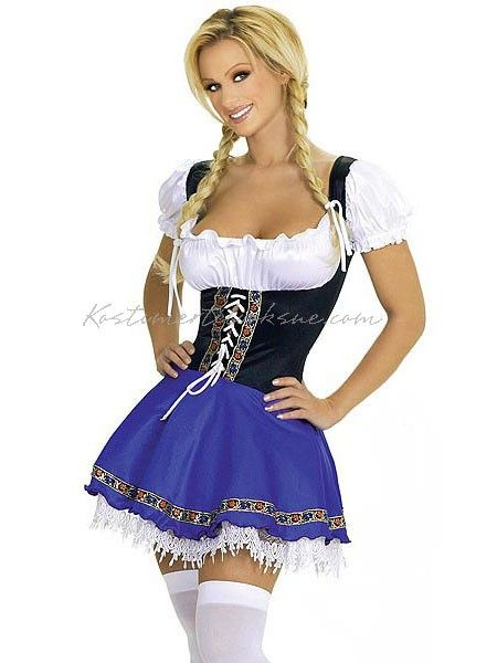 udklædning oktoberfest