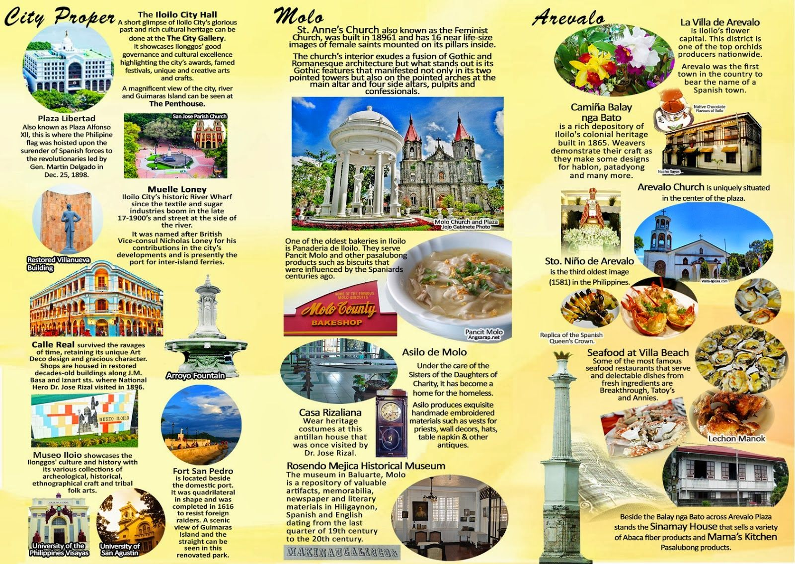 New Iloilo City Tourism Brochure (Now Available for Download!) | Iloilo Dinagyang 2015